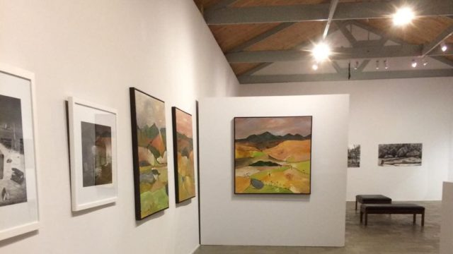 inside the Arc Yinnar gallery art studio